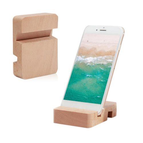 Wood Phone Holder Tablet Desk Stand