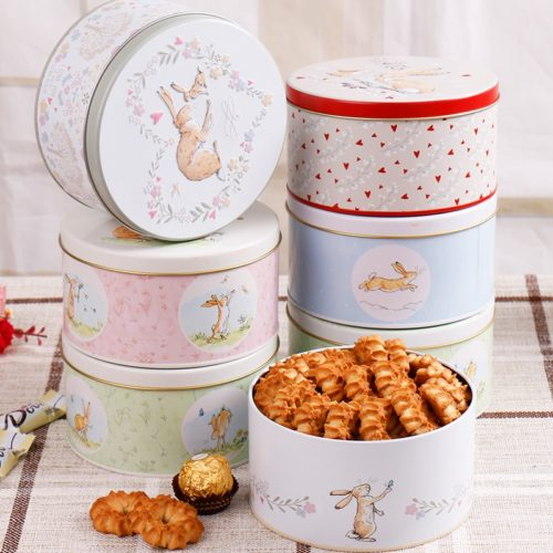 Cookie Tin Can Reusable Food Keeper
