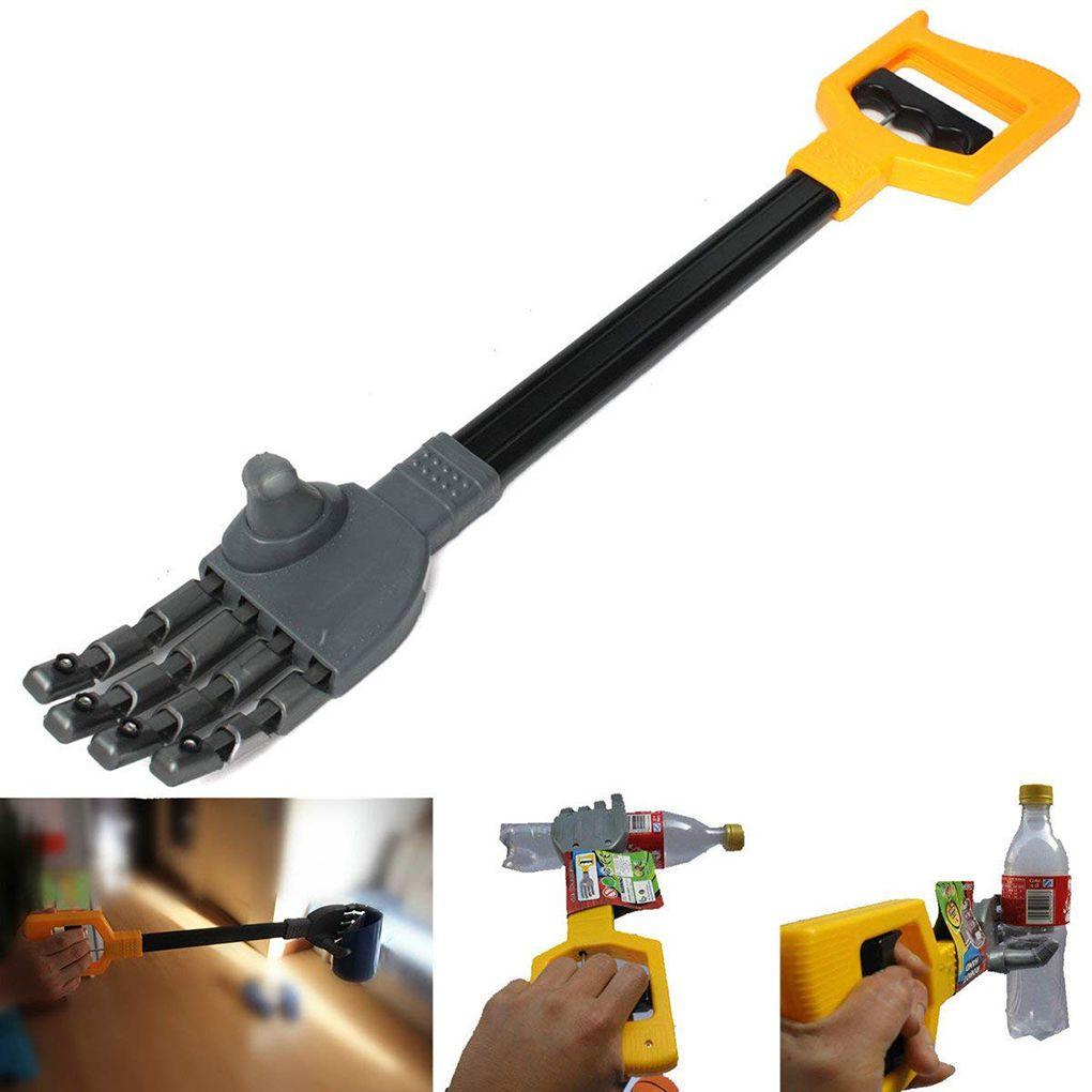 55CM Robot Claw Hand Grabber Grabbing Stick Kid Boy Toy Hand Wrist Strengthen DIY Robot Grab Toy High Quality Plastic Baby Toy