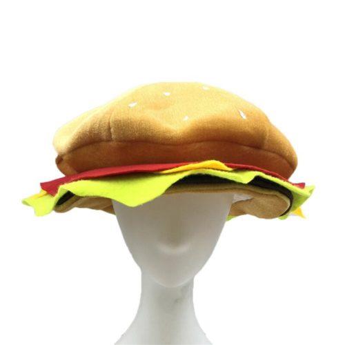 Burger Hat Funny Headwear