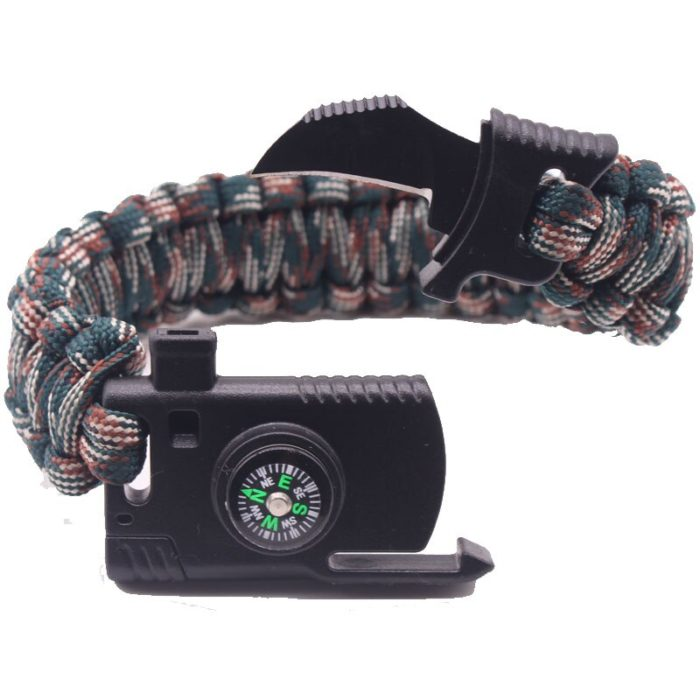 Compass Bracelet Outdoor Paracord