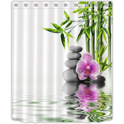 Zen Shower Curtain Waterproof Cloth