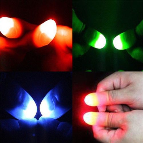 Thumb Light Magic Trick Prop (2 pcs)