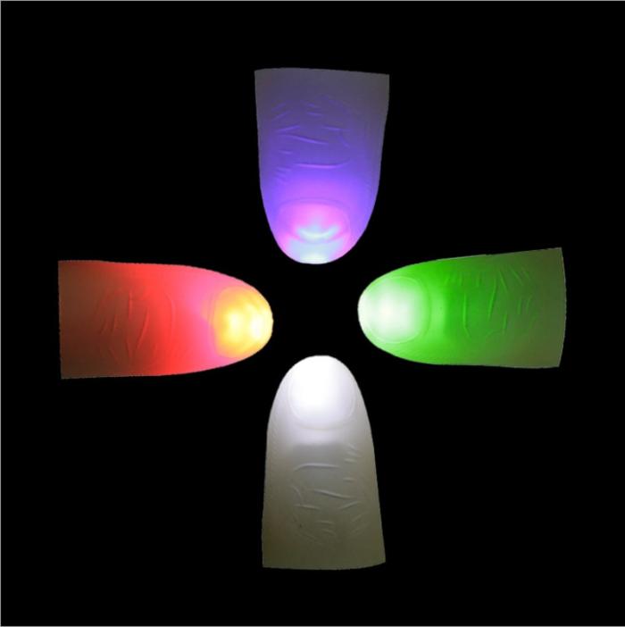 Thumb Light Magic Trick Prop (2 pcs)