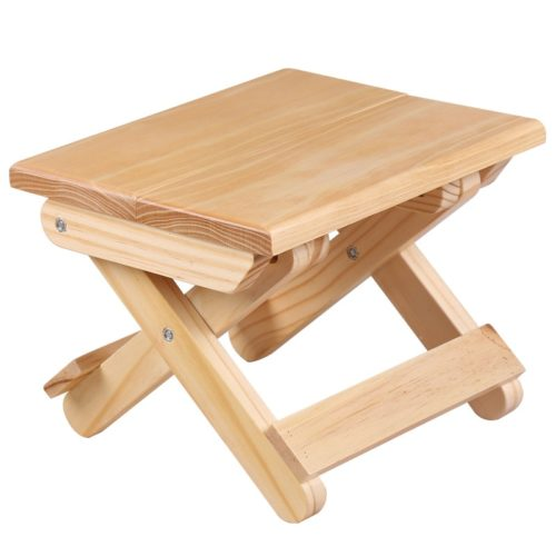 Foldable Wooden Small Stool