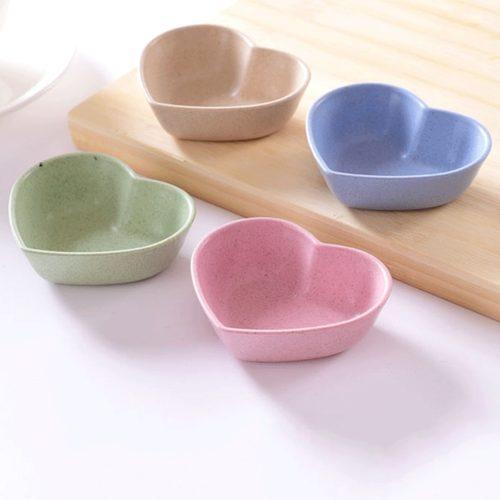 Heart Shaped Bowl Cute Snack Dish