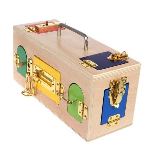 Montessori Lock Box Educational Toy