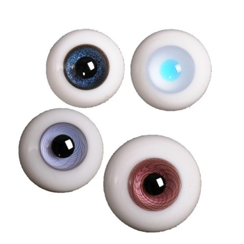 Glass Doll Eyes DIY Accessories (2pcs)