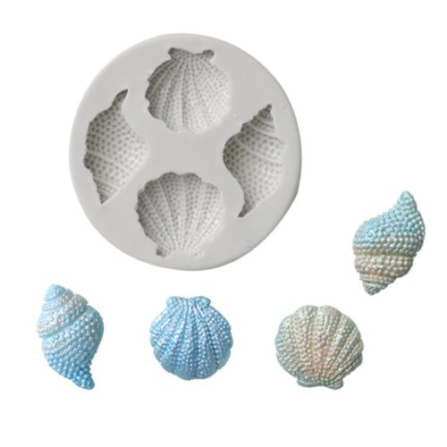 Seashell Mould Silicone Decorating Tool
