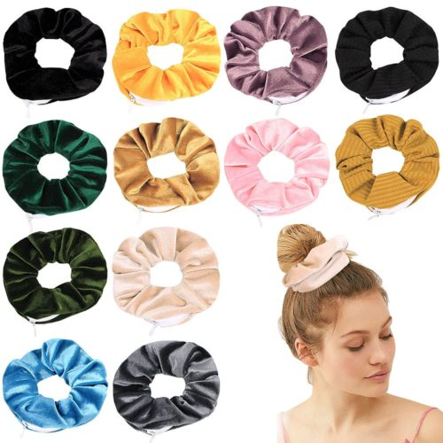 Scrunchie with Pocket Elastic Hair Accessory