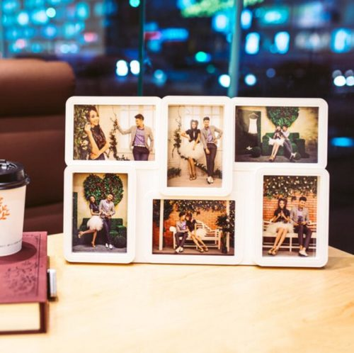 6 Grids Picture Collage Frame