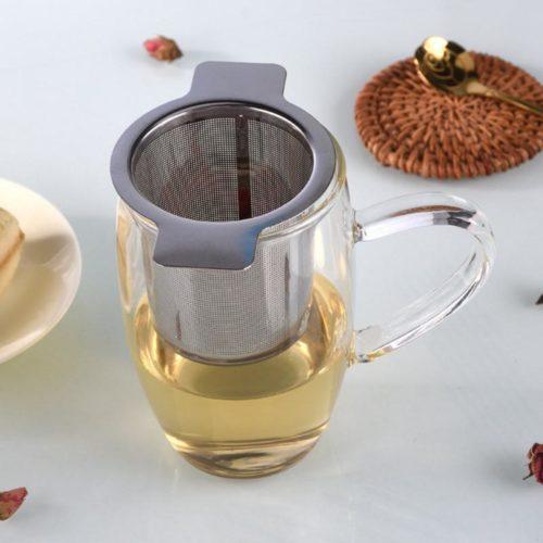 Loose Leaf Tea Strainer Metal Infuser