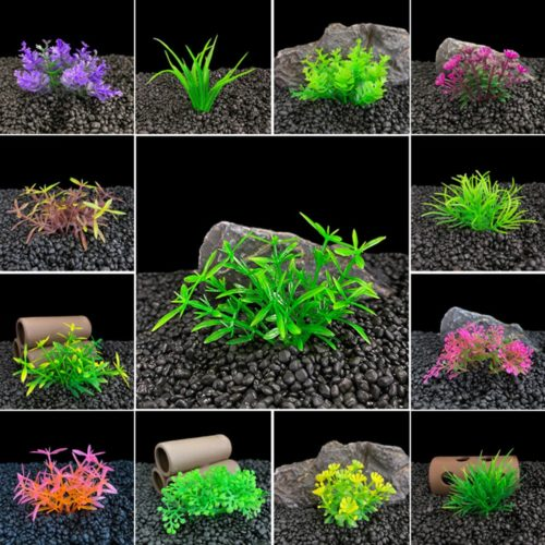 Aquarium Artificial Plant Tank Decor