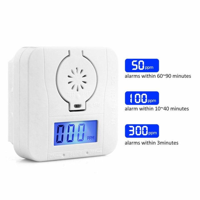 Smoke Detector Battery-Powered Smoke Alarm
