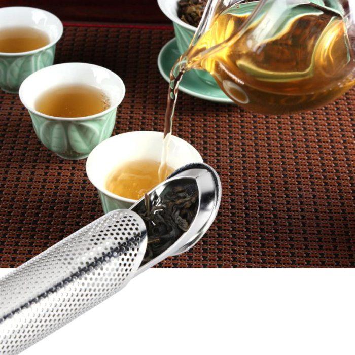 Stainless Steel Tea Strainer Pipe Design