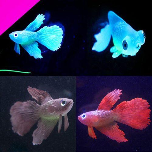 Artificial Fish Silicone Aquarium Decor