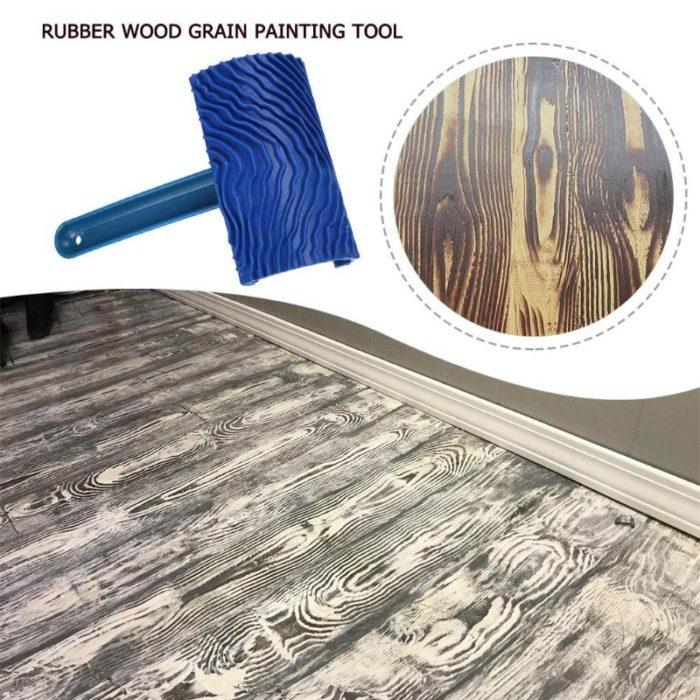 Wood Grain Paint Roller Rubber Tool