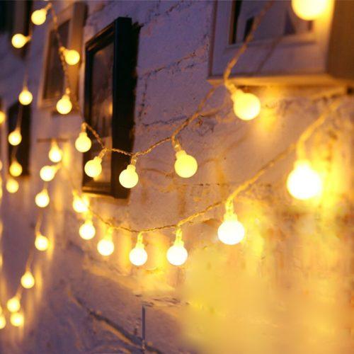 Bulb Fairy Lights Outdoor LED Decor