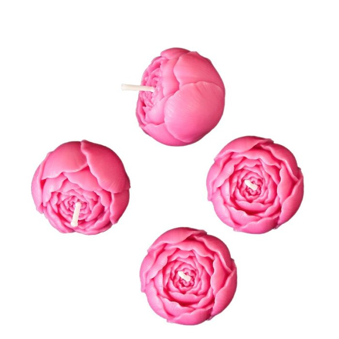 Rose Candles Creative Home Decoration