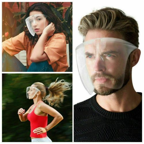 Anti-Fog Face Shield Transparent Mask