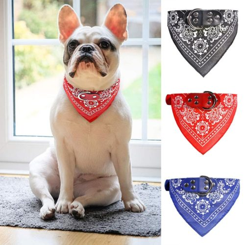 Bandana Collar Dog Scarf Accessory