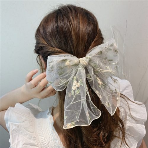 Ladies Hair Bow Cute Hair Accessory