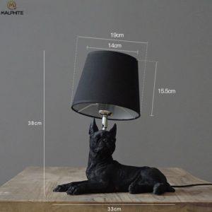 Dog Lamp Table Night Light