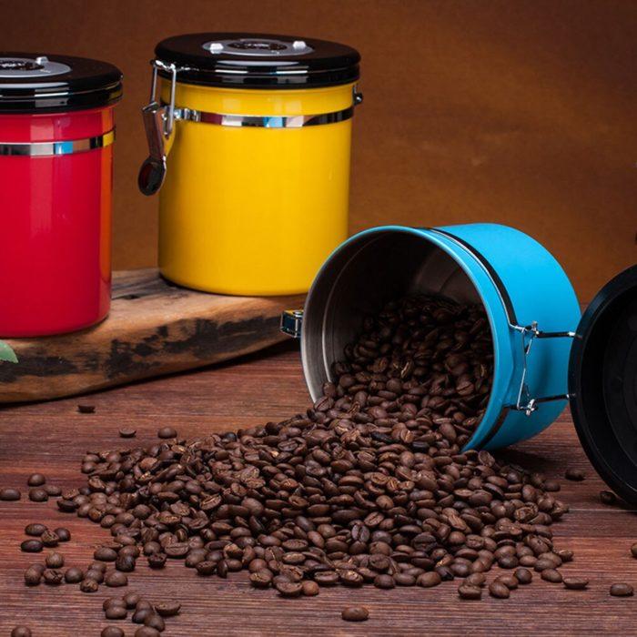 Vacuum Coffee Canister 800ml Jar