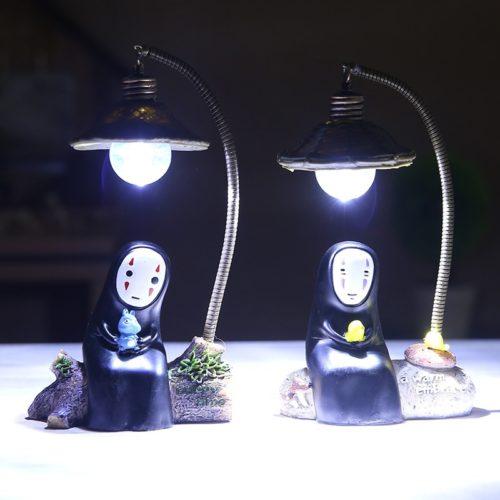 Spirited Away Lamp No-Face Night Light
