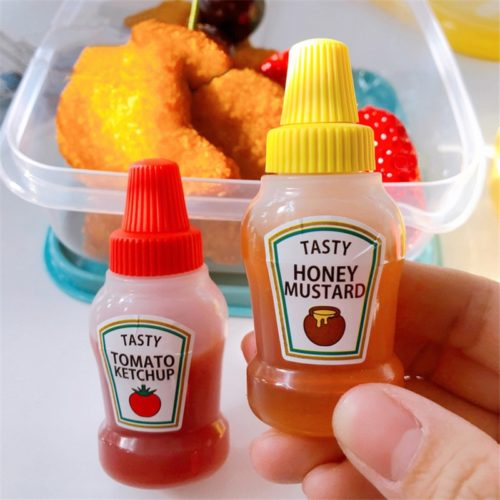 Mini Sauce Bottles Dip Container
