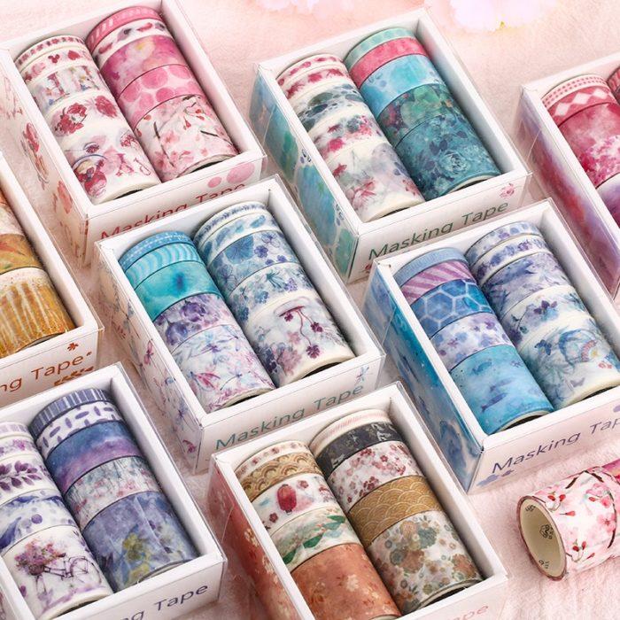 Washi Tape Set DIY Supplies (10pcs)