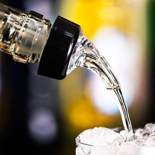 Liquor Pourer Plastic Alcohol Spout