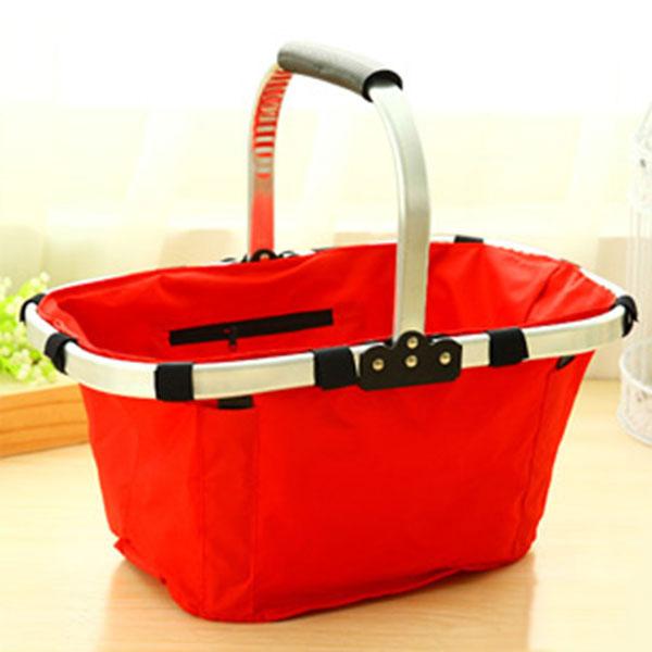 Customized Folding shopping folded basket eco-friendly shopping oxford fabric shopping basket storage halloween basket