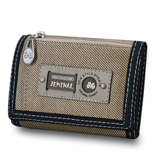 Mens Trifold Wallet Canvas Material