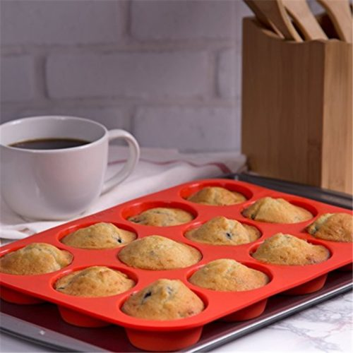 Muffin Silicone Mold Baking Tray