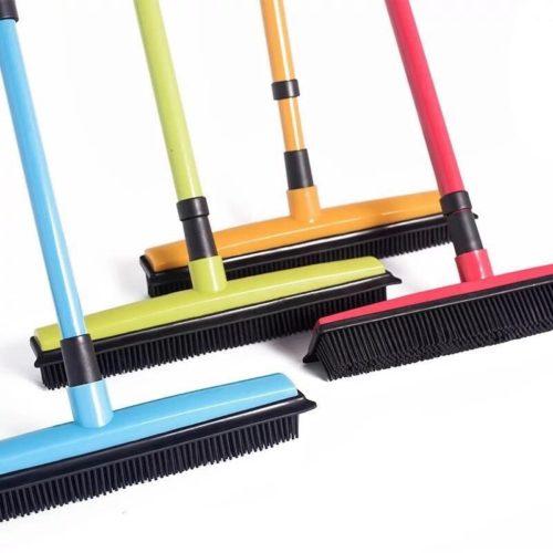 Carpet Broom Rubber Head Sweeper