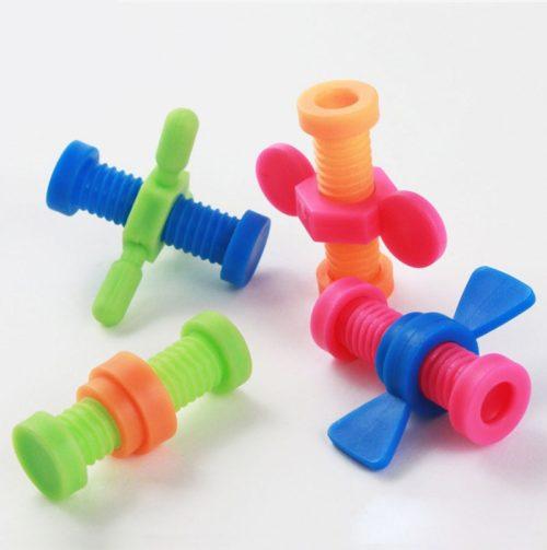 Pencil Fidget Pencil Topper Toy (4pcs)