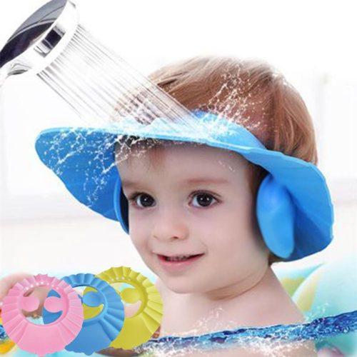 Kids Shower Cap Baby Shampoo Visor