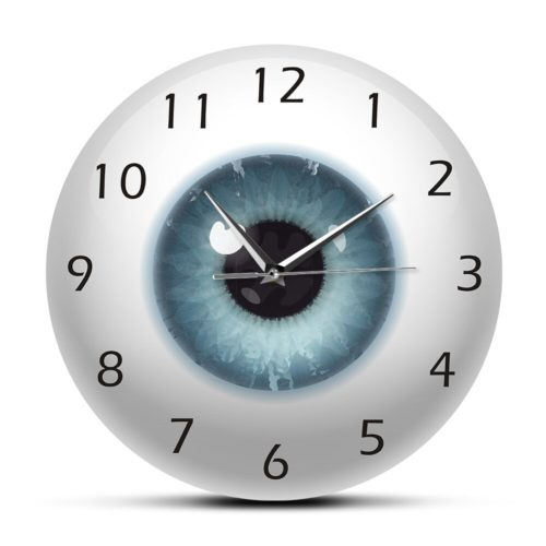 Eye Clock Ophthalmology Wall Clock