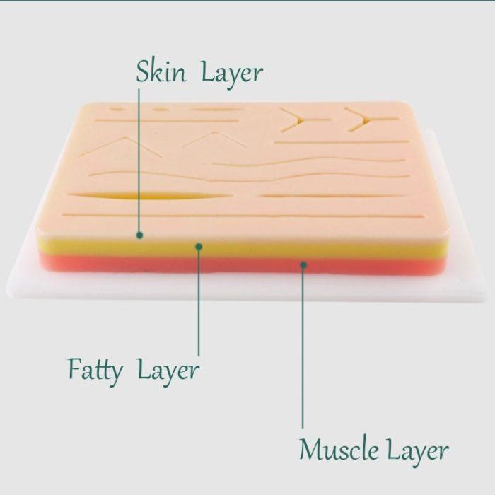 Suture Pad Medical Skin Practice Tool