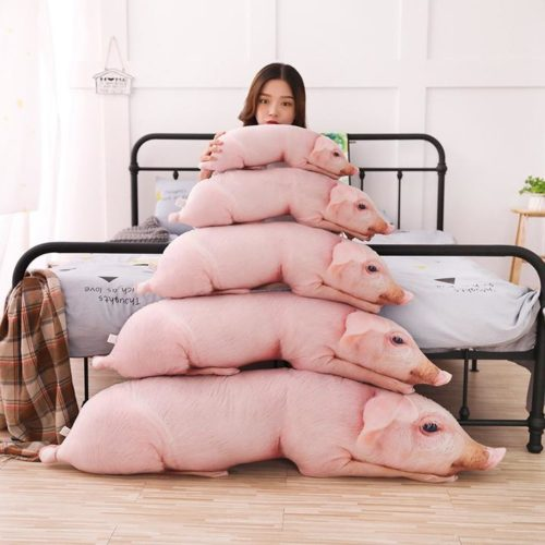 Pig Pillow Realistic Stuffed Animal
