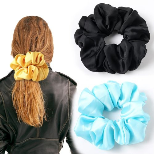 Oversized Scrunchie Elastic Hair Tie