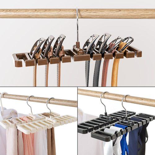 Belt Hanger Closet Storage Organizer