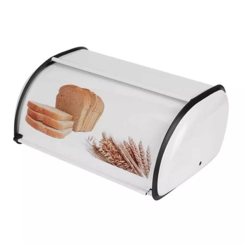Metal Bread Box Storage Container