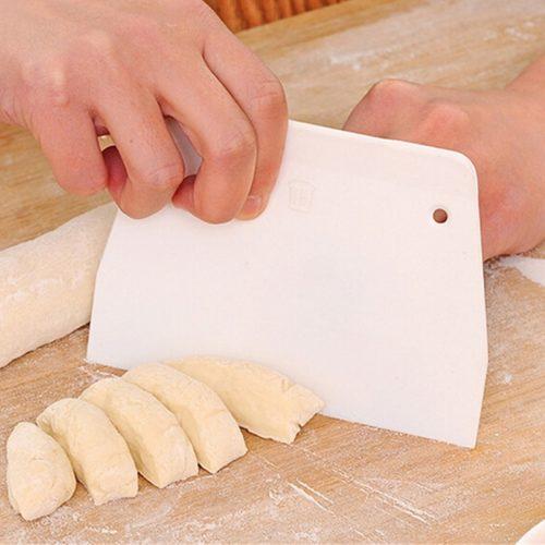 Plastic Dough Scraper Baking Spatula