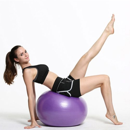 Stability Ball Inflatable Yoga Sphere
