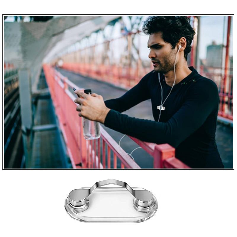 1PCS Magnetic Clip Removable Glasses Headphone Badge Holder Holder Sunglasses Clip Hang Magnet Hook Shirt Universal