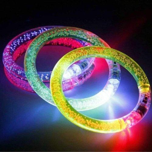 Glow Stick Bracelets LED Bangles (20pcs)