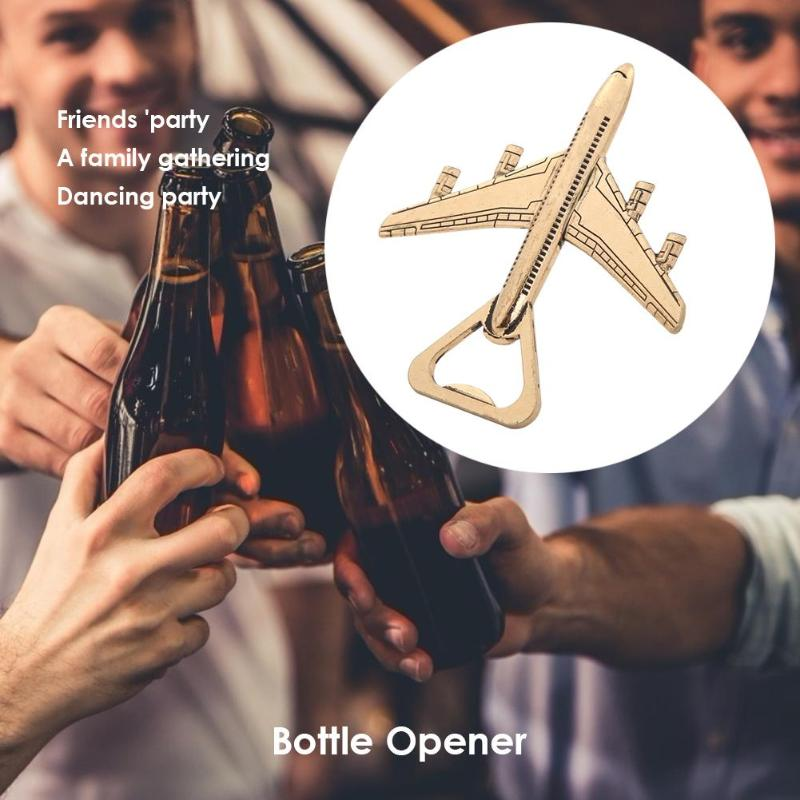 Wedding Souvenirs Big Sized Airplane Bottle Opener Gift Favors Kitchen Tool