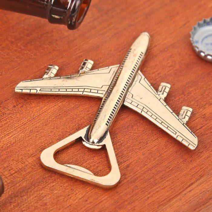 Airplane Bottle Opener Metal Tool
